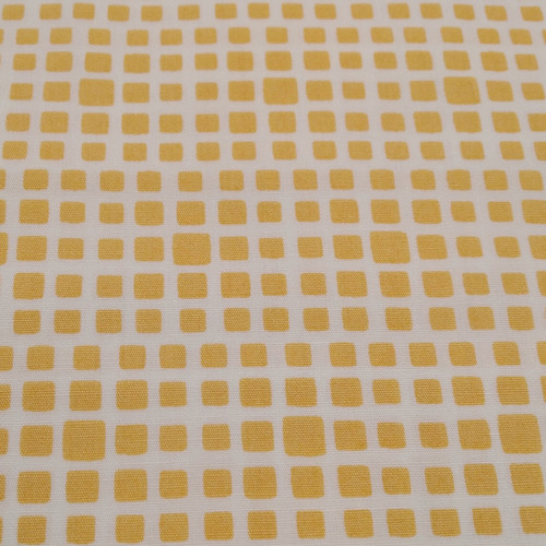 Yellow/Mustard: Art Gallery, Square Elements, Honeycomb