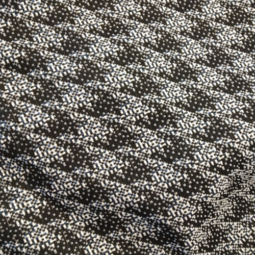 Dress Fabric: Double Weave Houndstooth