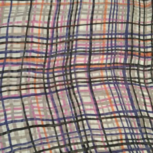Dress Fabric: Dusk Check