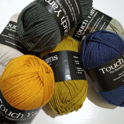 Touch Yarns: Pure Merino Dk