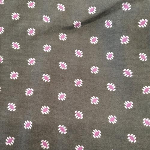 Dress Fabric: Olive Print