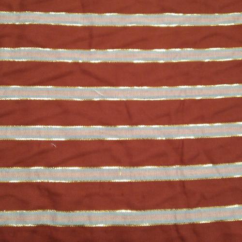 Dress Fabric: Smart and Sparkle Stripe