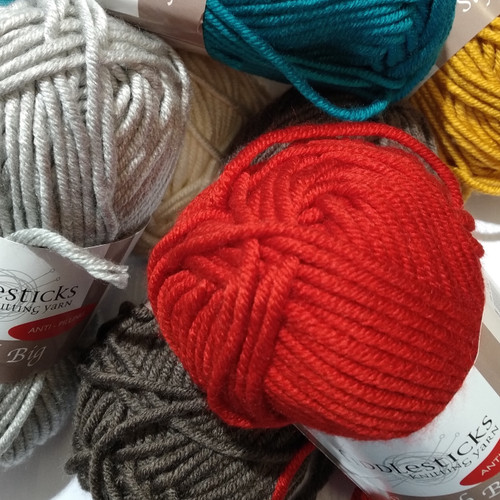 Tex Yarns: Superb Big Acrylic