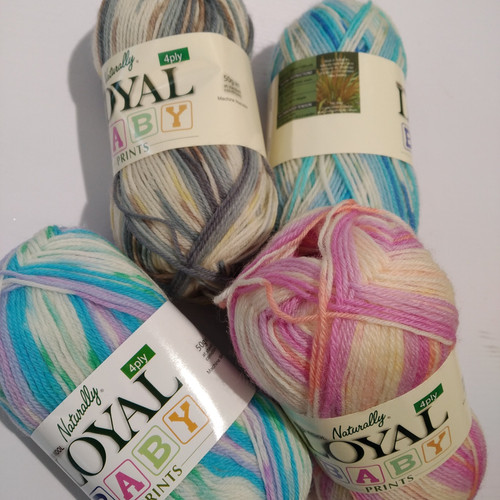 Loyal: Baby Prints 4 ply