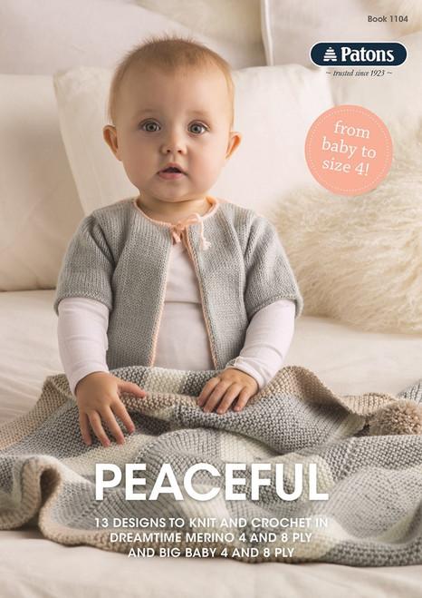 Patons: Peaceful (Book 1104)