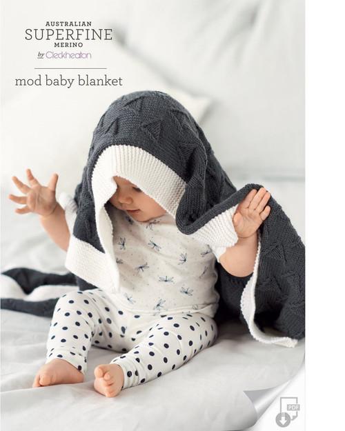 Cleckheaton Mod baby Blanket 417