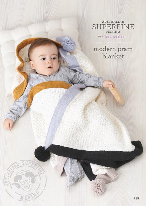 Cleckheaton: Modern Pram Blanket