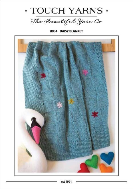 Touch yarns: Daisy Blanket #034