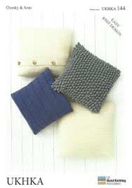 UKHKA 144 Chunky & Aran Cushions