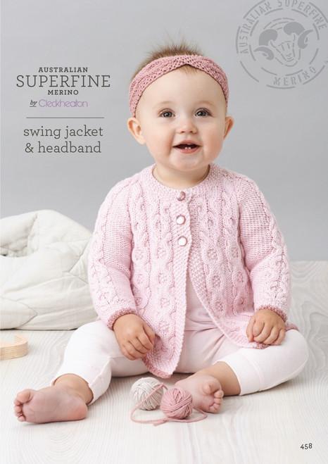 Cleckheaton: Swing Jacket and Headband 458