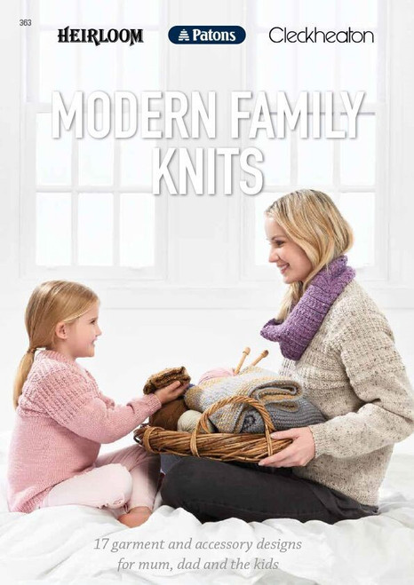 Heirloom/Patons/Cleckheaton: Modern Family Knits