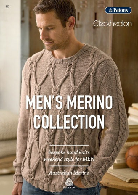 Patons/Cleckheaton: Mens Merino Collection