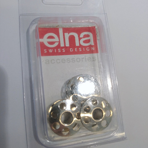 Elna: Bobbins Swiss made