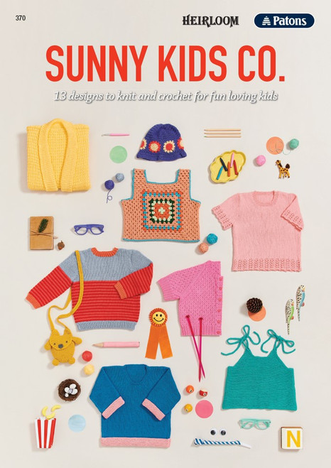Patons/Heirloom: Sunny Kids co.