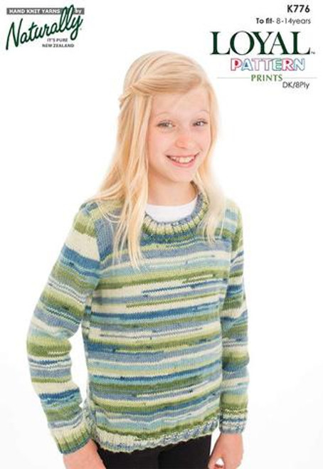 Naturally:  Easy sweater K776