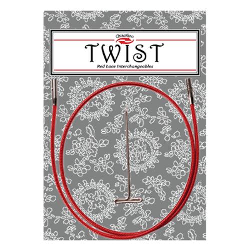 Chiaogoo: Twist Red Cables (L)