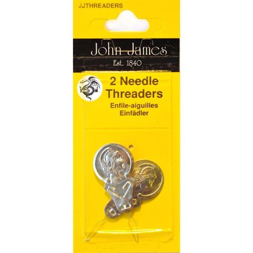 John james needles - needle threader x 2 threaders