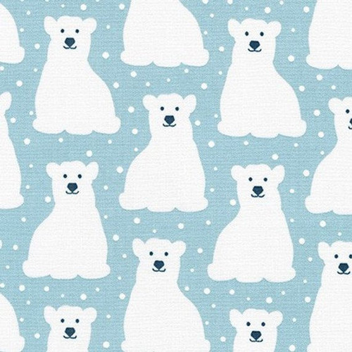 Printed Cottons: Arctic -  Sky