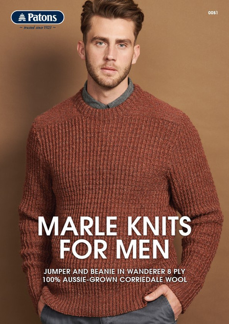 Patons: Marle knits for men