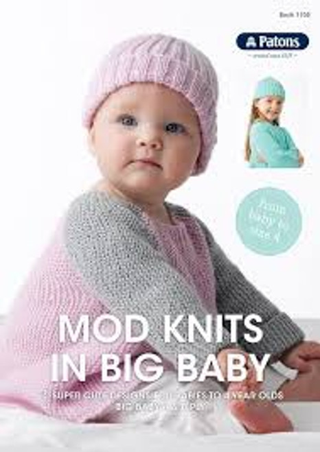 Patons Mod knits in big baby 1105