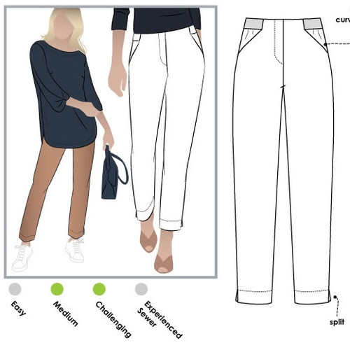 SEWING - BEGINNERS' PLUS: THE SADIE PANT