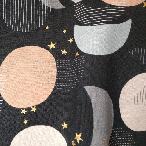 Dress Fabric: Konzai - Black