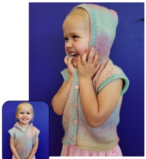 Countrywide: Baby Sleeveless hoodie P338