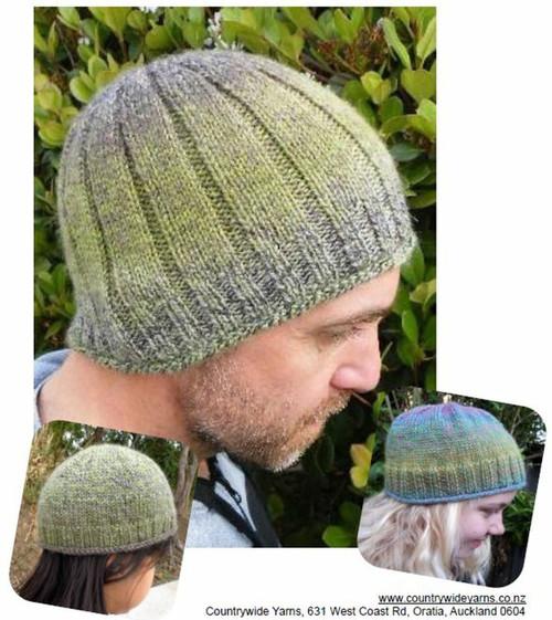 CountryWide: Mandala rib hat P309