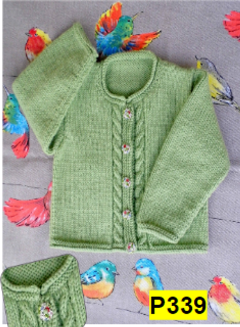 CountryWide: Baby Cardigan P339