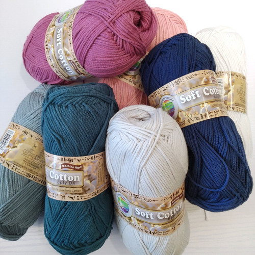 CountryWide Yarns: Soft Cotton