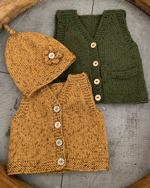 Touch Yarn: Ava & Archie Vest and Hat