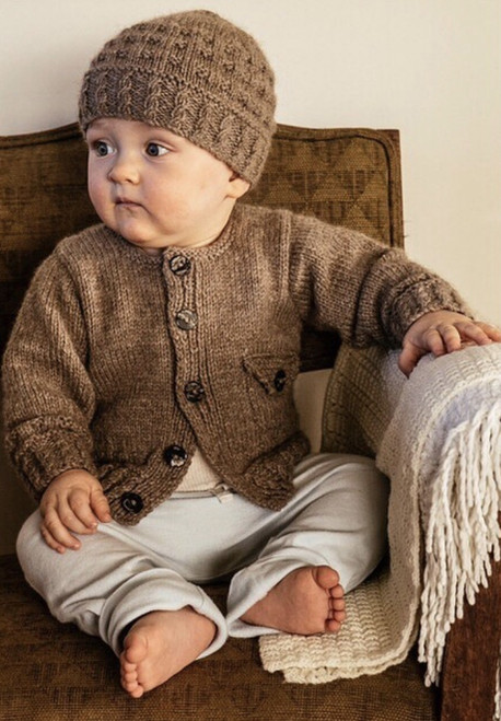 Touch Yarns: Boston Cardi and Hat