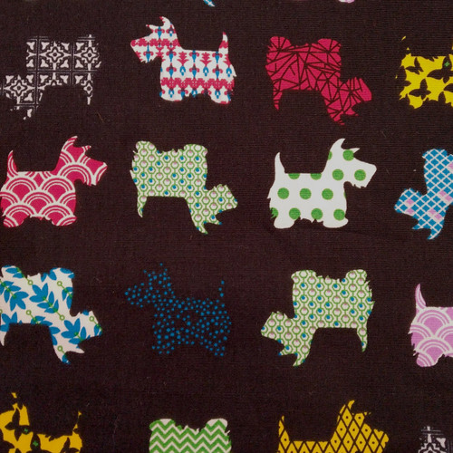 Printed Cotton: Scottie prints