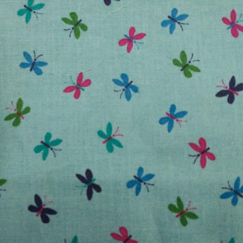Printed Cotton: Bountiful Butterflies