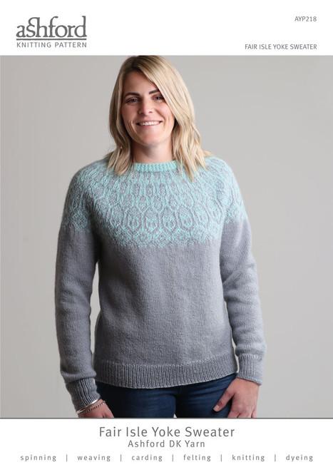 Ashford: Fair Isle Yoke Sweater AYP218