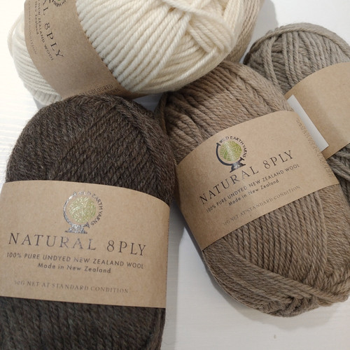 WEY: Natural 8ply