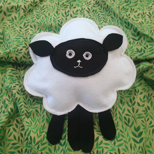 SEWING: BEGINNERS - MAKE A STUFFED SHEEP TOY (9 years old+)