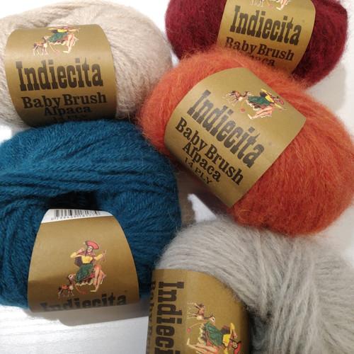 Indiecita 14 Ply Baby Brushed Alpaca