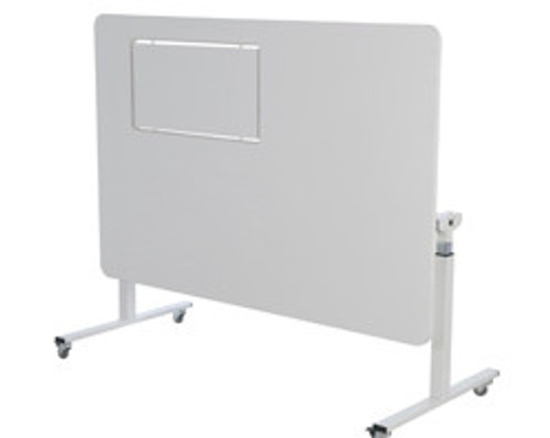Horn height adjustable sewing and cutting table