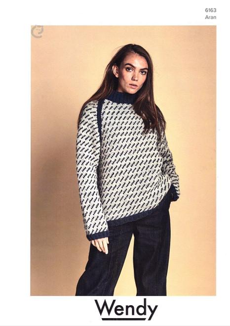 Wendy: Unisex Fair isle sweater 6163