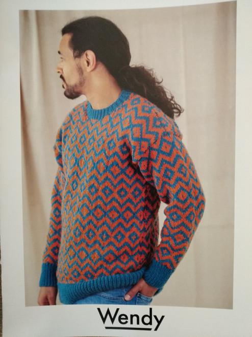 Wendy: Fair isle Sweater