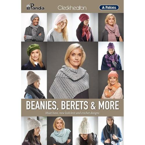Patons/Cleckheaton/panda: Beanies, Berets and More
