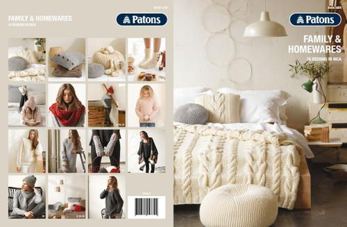Patons: Family & Homewares (Book 1309)