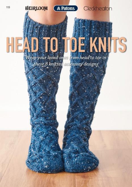 Heirloom/Patons/Cleckheaton: Head to Toe knits