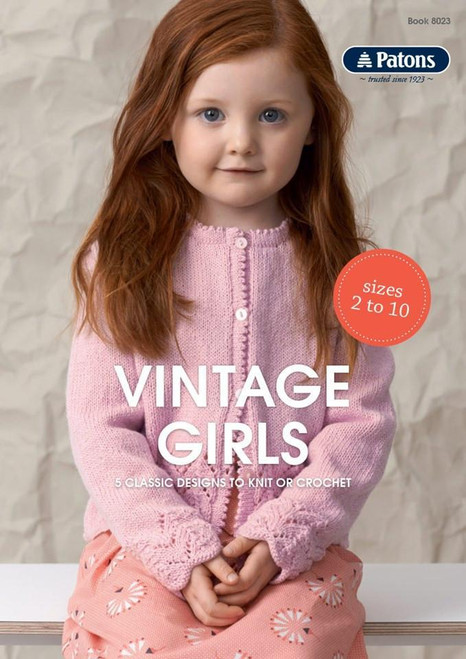 Patons: Vintage Girls Book (8023)