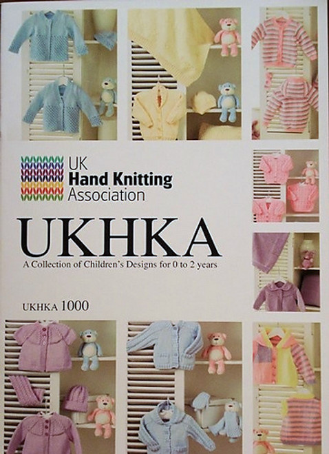 UKHKA: A collection of children's designs for 0-2 years (1000)