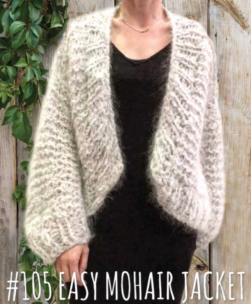 Touch yarns: Easy Mohair Jacket 105