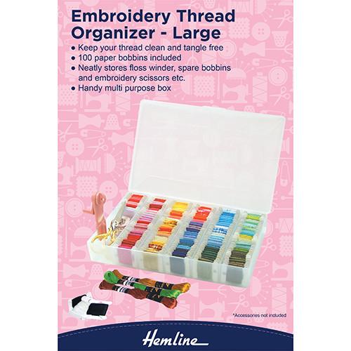Hemline: Embroidery Thread Organizer - Large