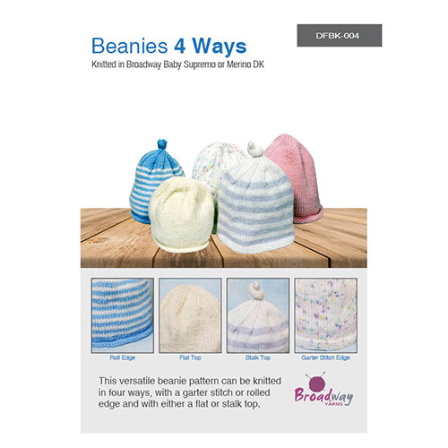 Broadway Yarns: Beanies 4 ways