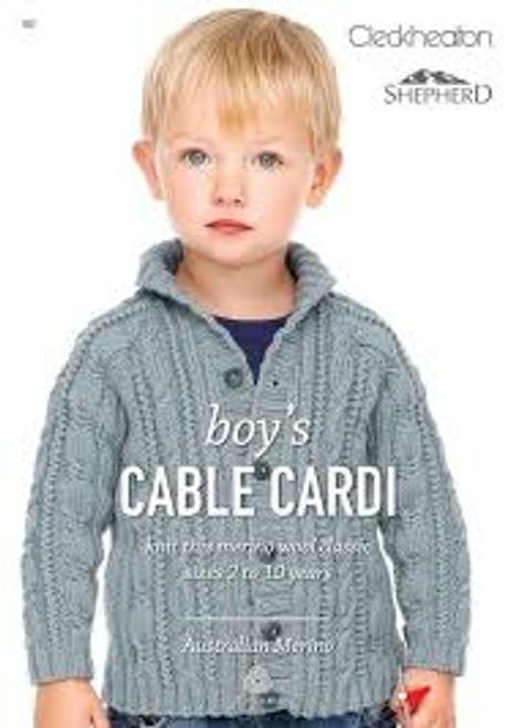 Cleckheaton/Shepherd: Boy's Cable Cardi